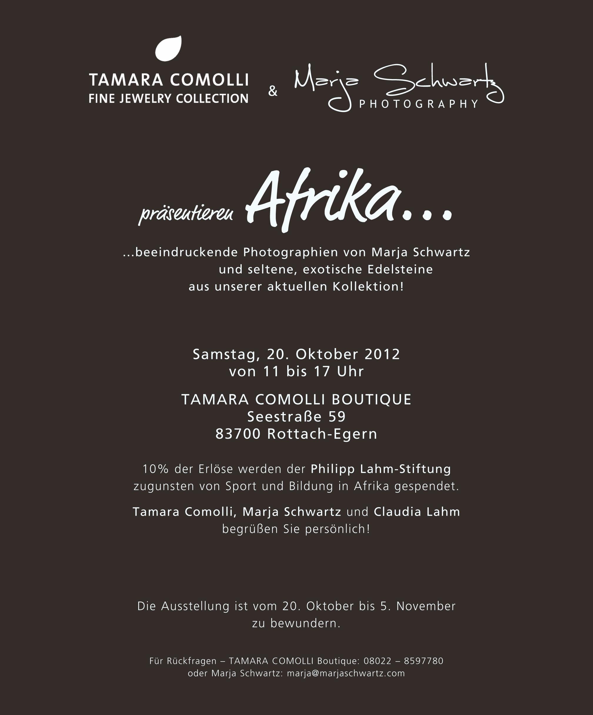 Tamara_Comolli_Marja_Schwartz_present_Africa