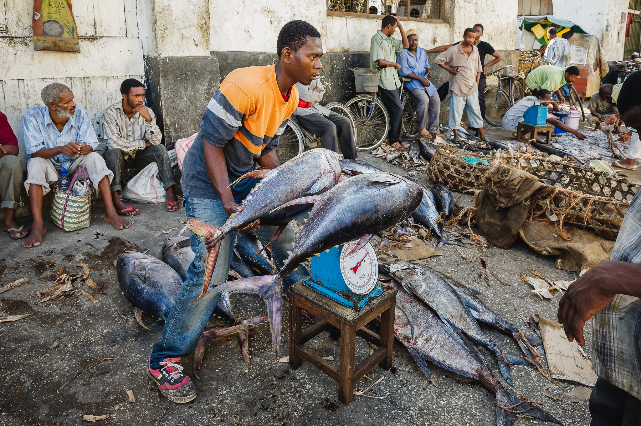 Darajani Fish Market