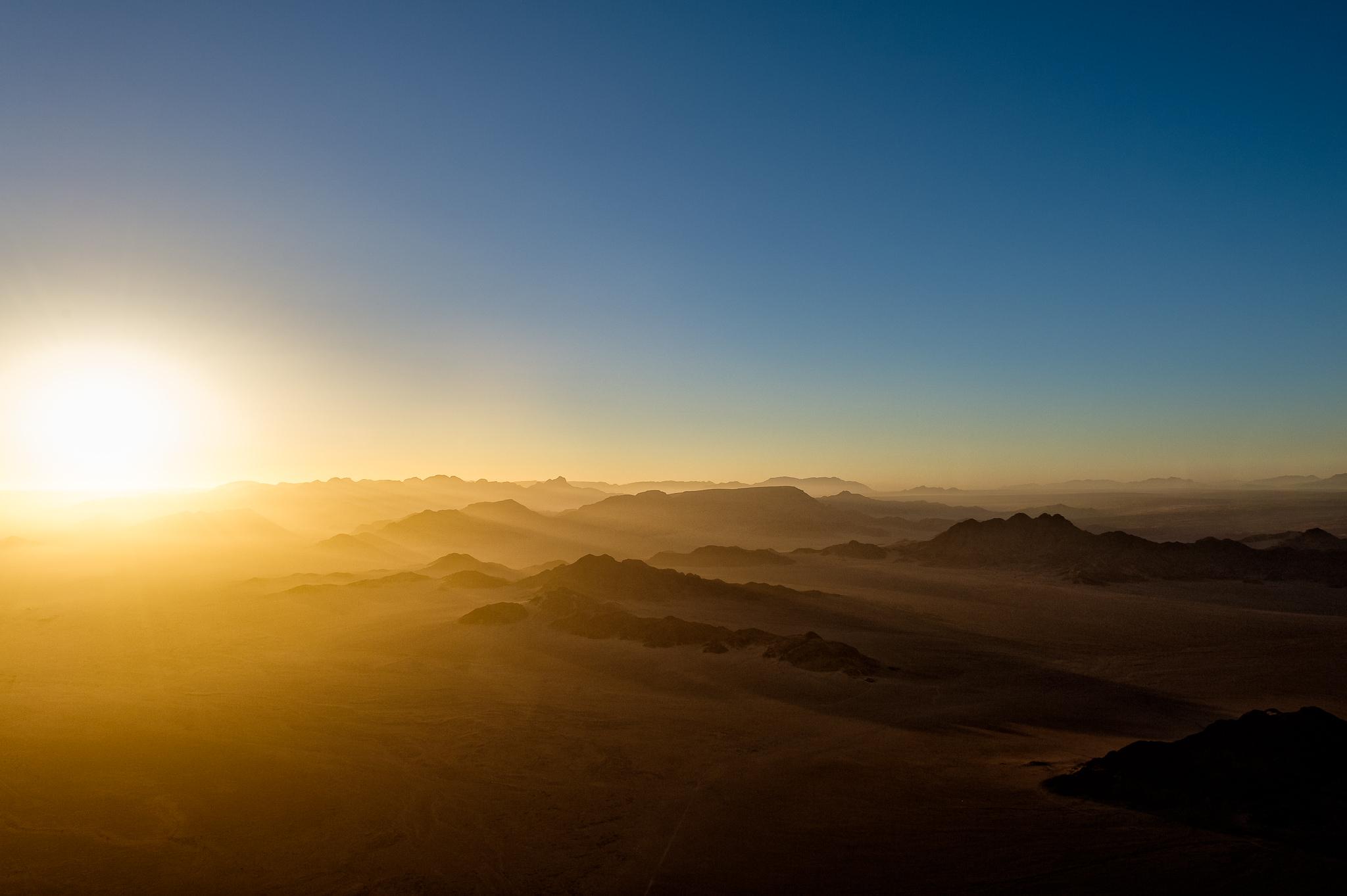 Sunrise @ Namib Desert