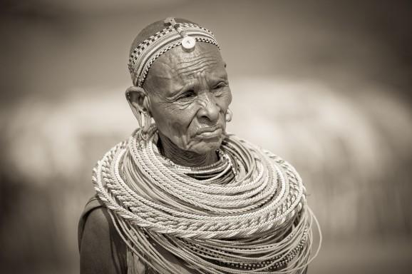 Samburu Portrait © Marja Schwartz