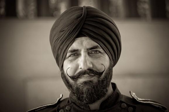 Sikh Portrait © Marja Schwartz